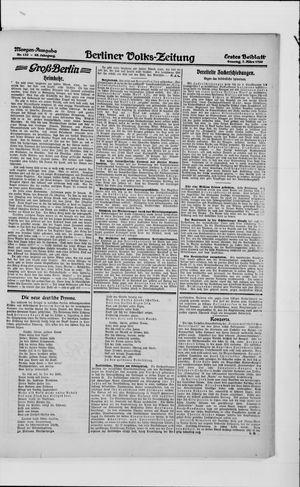 Berliner Volkszeitung vom 07.03.1920