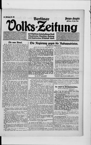 Berliner Volkszeitung vom 10.03.1920