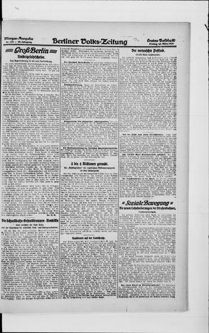Berliner Volkszeitung vom 12.03.1920