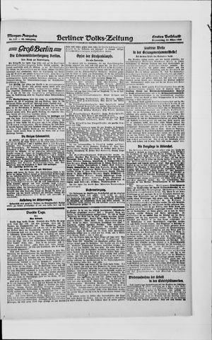 Berliner Volkszeitung vom 25.03.1920