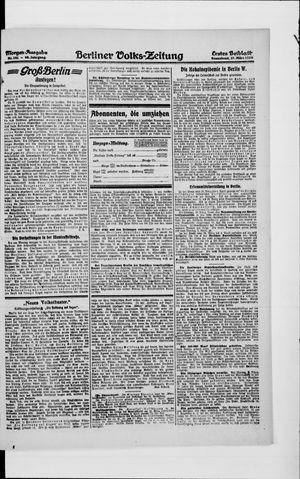 Berliner Volkszeitung vom 27.03.1920