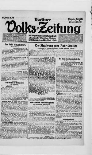 Berliner Volkszeitung vom 31.03.1920