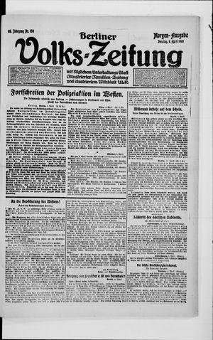 Berliner Volkszeitung vom 06.04.1920