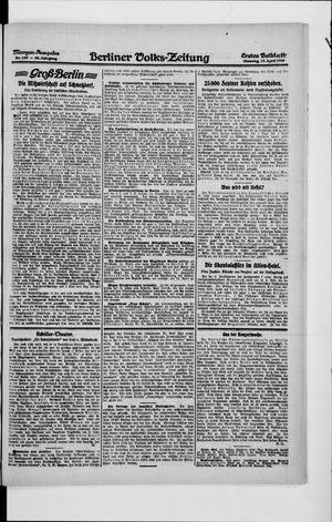 Berliner Volkszeitung vom 13.04.1920