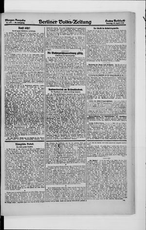 Berliner Volkszeitung vom 18.04.1920