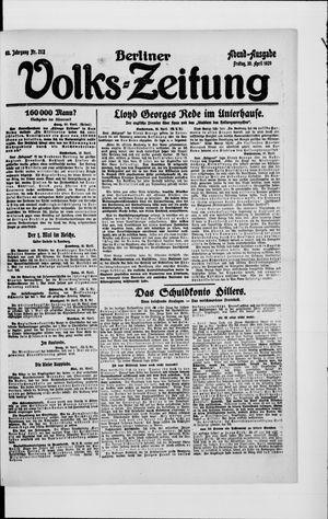 Berliner Volkszeitung vom 30.04.1920