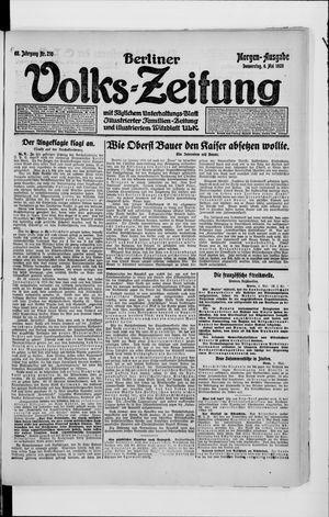 Berliner Volkszeitung vom 06.05.1920