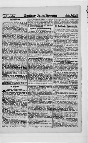 Berliner Volkszeitung vom 13.05.1920