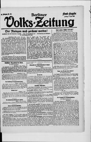 Berliner Volkszeitung vom 14.05.1920