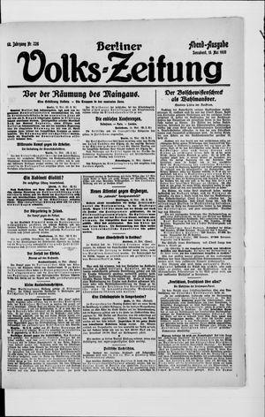 Berliner Volkszeitung vom 15.05.1920