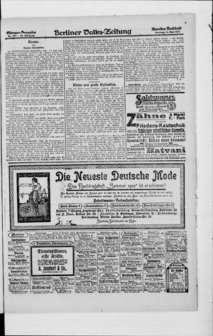 Berliner Volkszeitung vom 16.05.1920