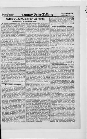 Berliner Volkszeitung vom 20.05.1920