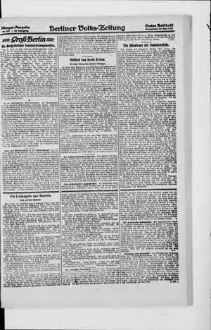 Berliner Volkszeitung vom 22.05.1920