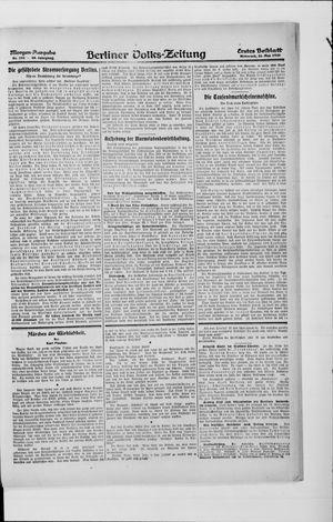Berliner Volkszeitung vom 26.05.1920