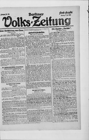 Berliner Volkszeitung vom 01.06.1920
