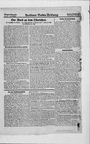 Berliner Volkszeitung vom 03.06.1920