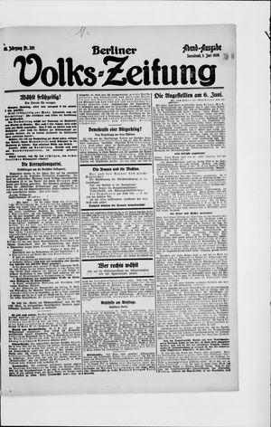 Berliner Volkszeitung vom 05.06.1920
