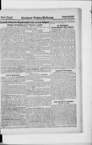Berliner Volkszeitung on Jun 11, 1920