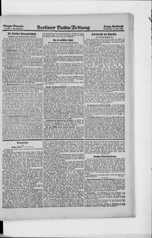 Berliner Volkszeitung vom 12.06.1920