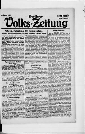 Berliner Volkszeitung vom 14.06.1920