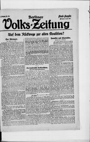 Berliner Volkszeitung vom 16.06.1920