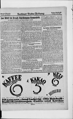 Berliner Volkszeitung vom 18.06.1920