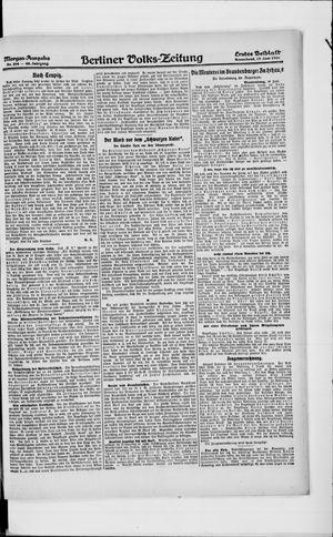 Berliner Volkszeitung vom 19.06.1920