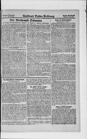 Berliner Volkszeitung vom 07.07.1920