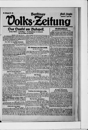 Berliner Volkszeitung vom 02.04.1921