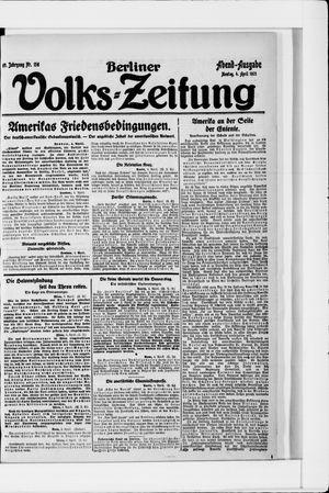 Berliner Volkszeitung vom 04.04.1921