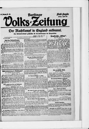 Berliner Volkszeitung vom 08.04.1921