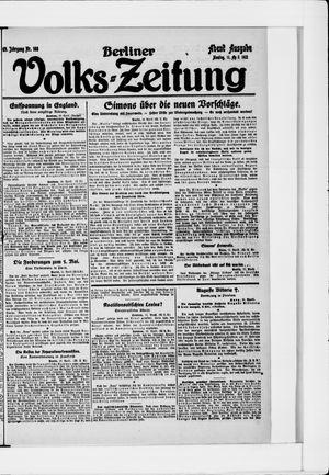 Berliner Volkszeitung vom 11.04.1921