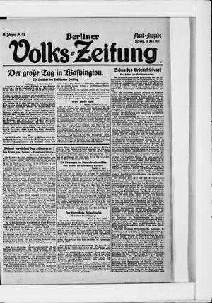 Berliner Volkszeitung vom 13.04.1921