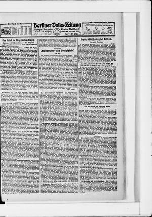 Berliner Volkszeitung vom 20.04.1921