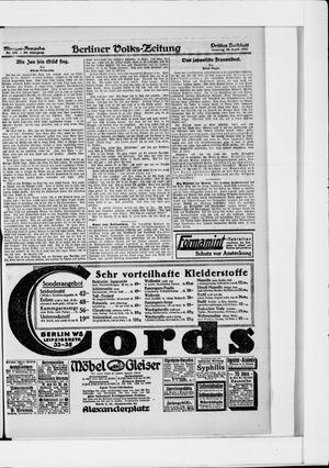 Berliner Volkszeitung vom 24.04.1921