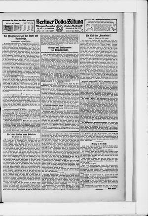 Berliner Volkszeitung vom 04.05.1921