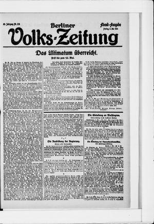 Berliner Volkszeitung vom 06.05.1921