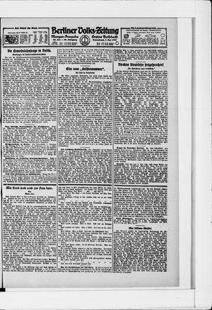 Berliner Volkszeitung vom 07.05.1921