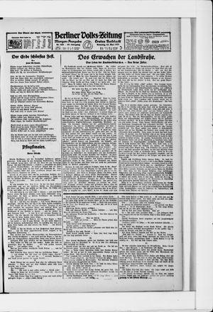 Berliner Volkszeitung vom 15.05.1921