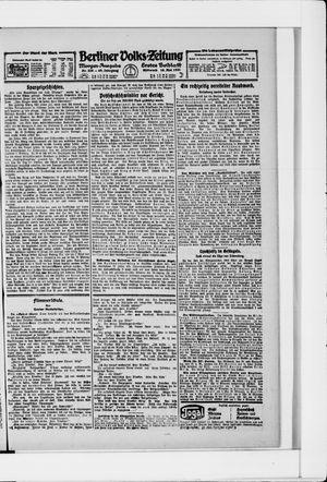 Berliner Volkszeitung vom 18.05.1921