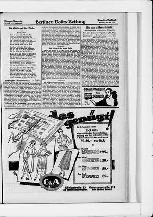 Berliner Volkszeitung vom 22.05.1921