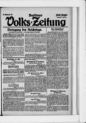 Berliner Volkszeitung vom 04.06.1921