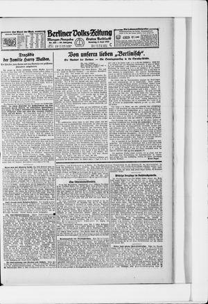 Berliner Volkszeitung vom 05.06.1921
