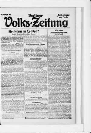 Berliner Volkszeitung vom 06.06.1921
