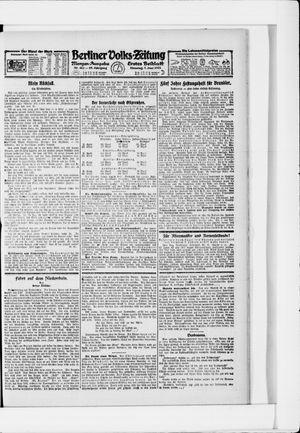 Berliner Volkszeitung vom 07.06.1921