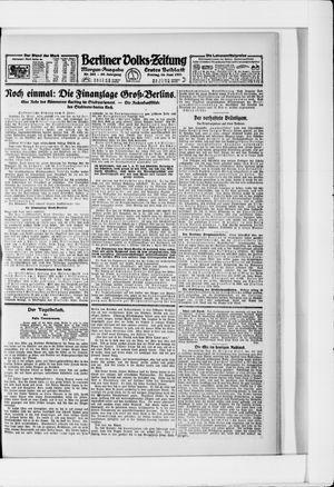 Berliner Volkszeitung vom 10.06.1921