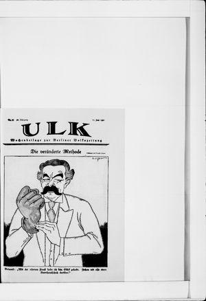 Berliner Volkszeitung vom 11.06.1921