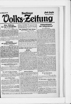 Berliner Volkszeitung vom 16.06.1921