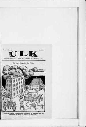 Berliner Volkszeitung vom 18.06.1921