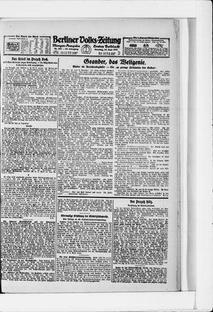 Berliner Volkszeitung vom 19.06.1921